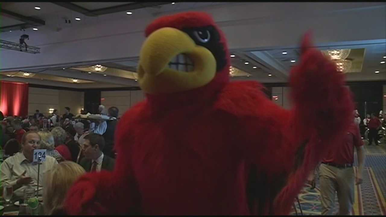 The University of Louisville football team hosts its annual kickoff luncheon Thursday.