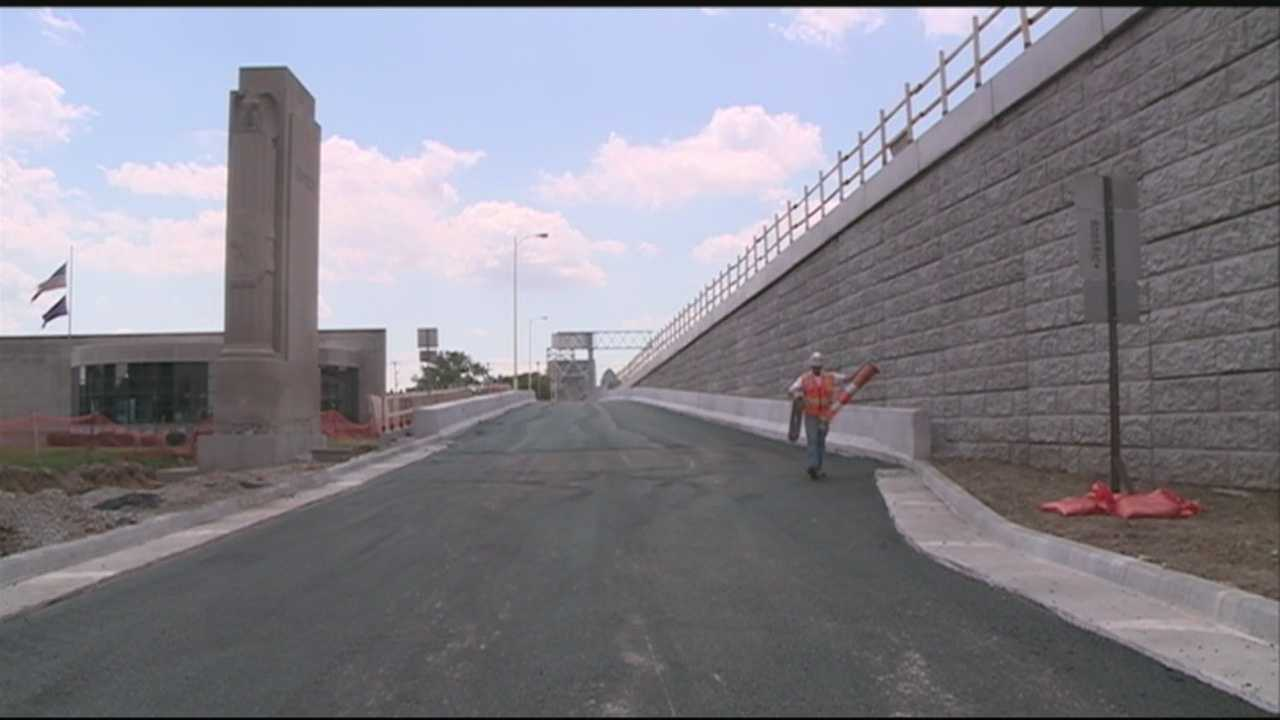 The Clark Memorial Bridge will reopen at midnight, six days ahead of schedule.
