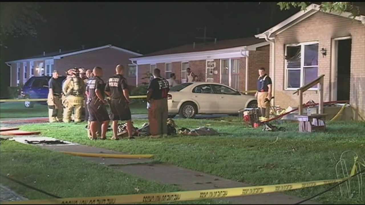 An investigation is underway after a Newburg home catches fire for the second time in one week.