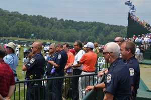 18. Keeping a headcount on Tiger's security detail at all times: usually 6 cops.