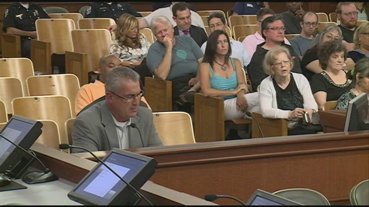 Safety concerns were discussed Wednesday evening about ride-sharing, a new and very popular way to get around town.