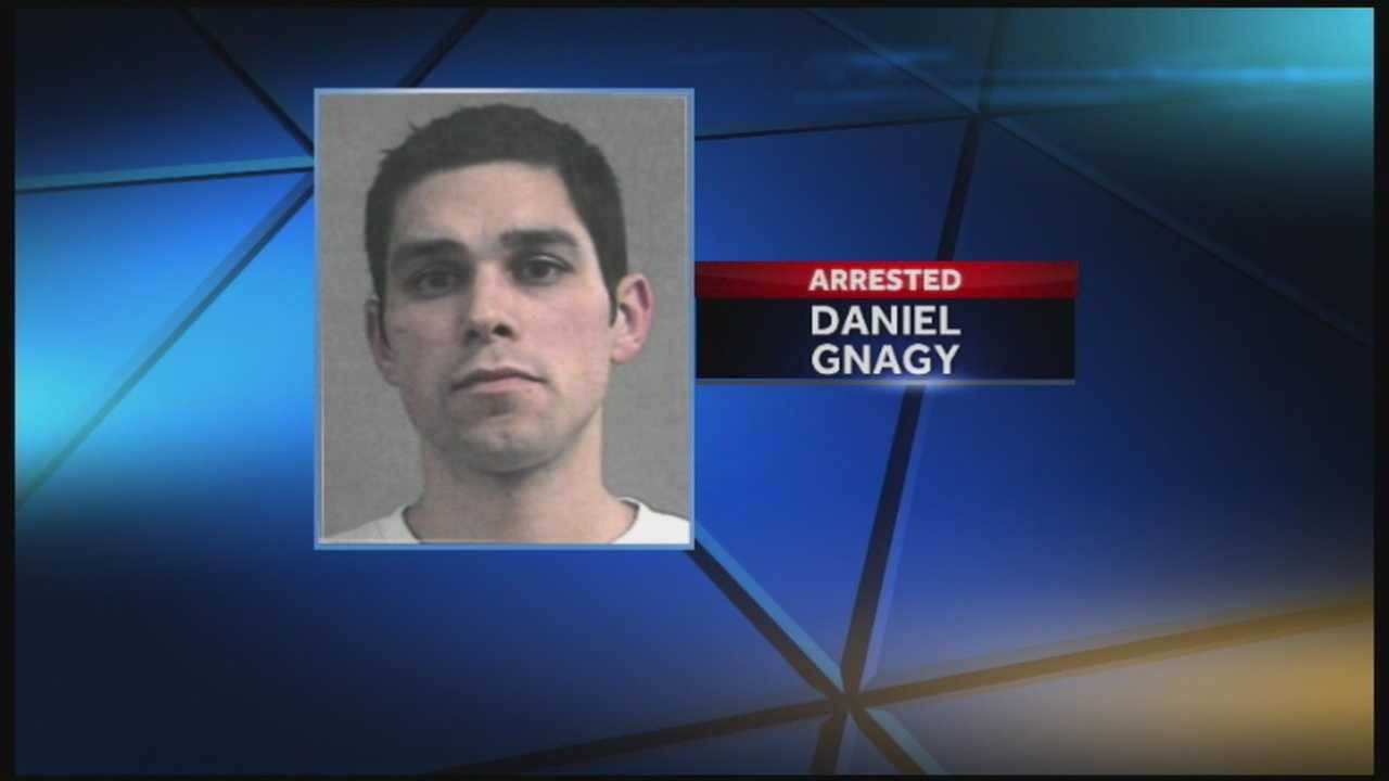 Daniel Gnagy faces multiple charges after police said he left a child in a hot car.