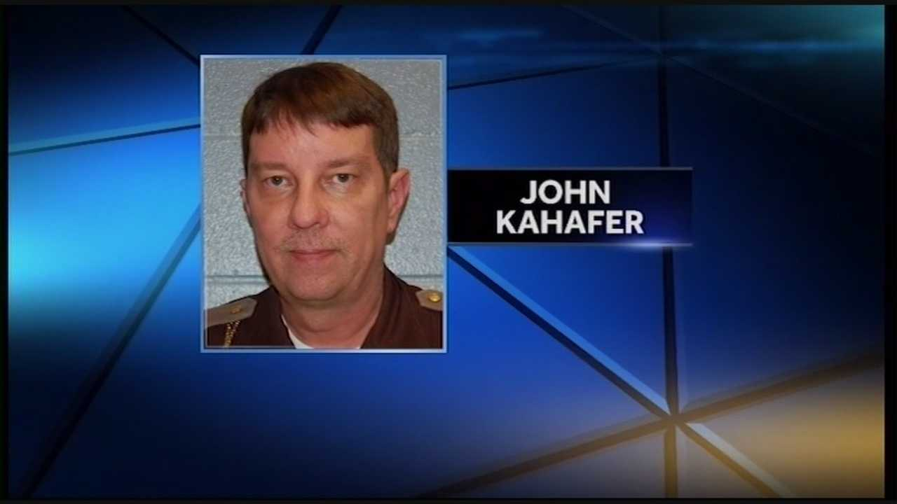 John Kahafer was filling in for Sheriff Danny Rodden, who is on leave pending the outcome of his criminal case.