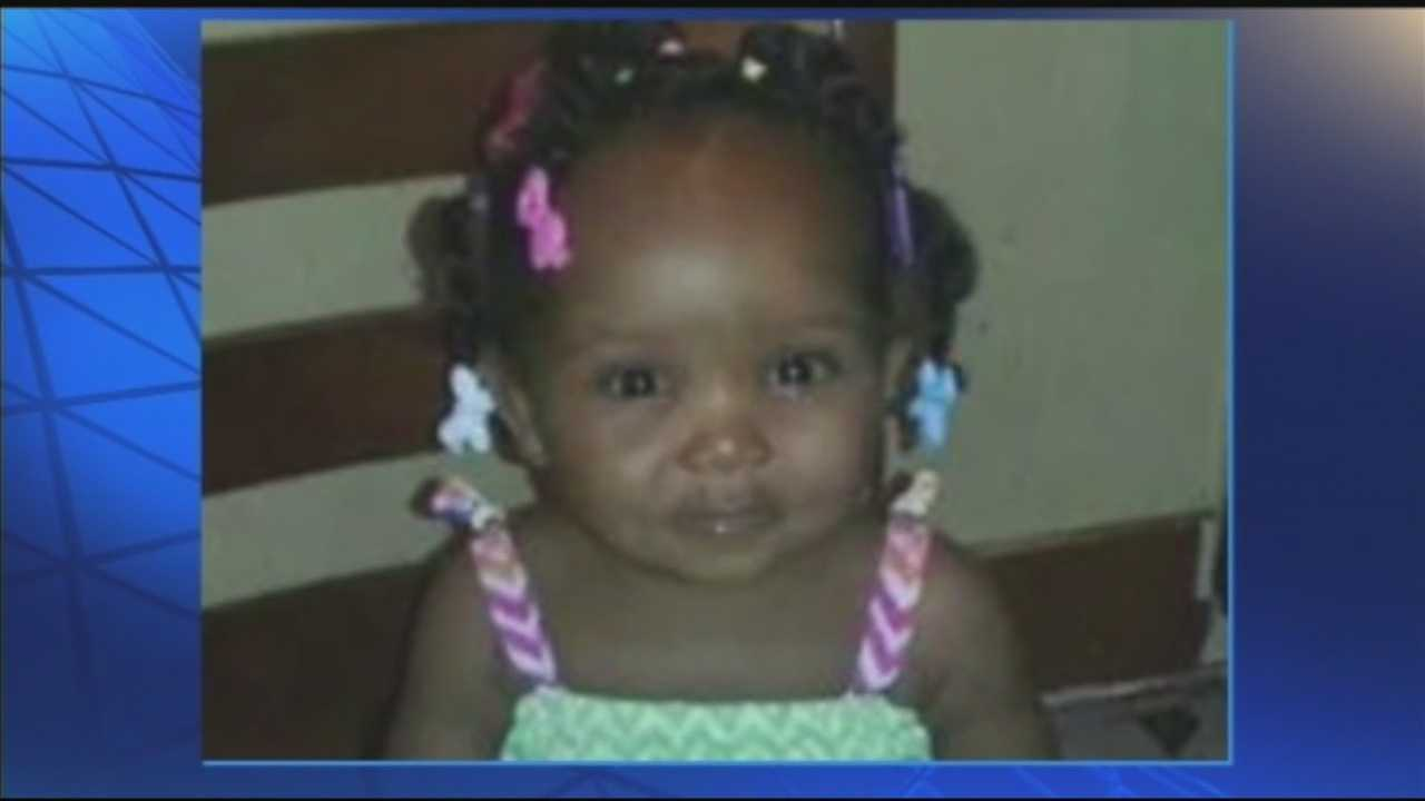 Police are looking for the people responsible for Wednesday afternoon shooting that killed a 1-year-old girl and sent her mother to the hospital.