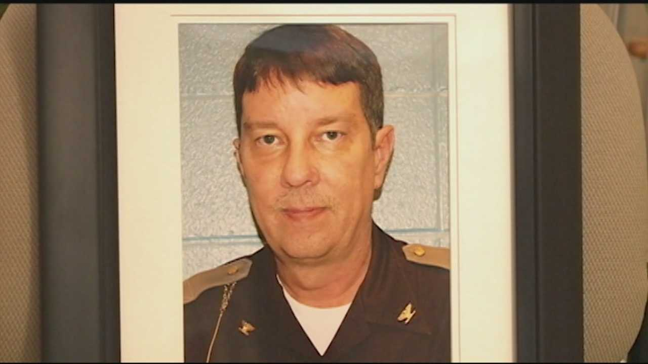 Funeral services were held Friday for acting Clark County Sheriff John Kahafer.