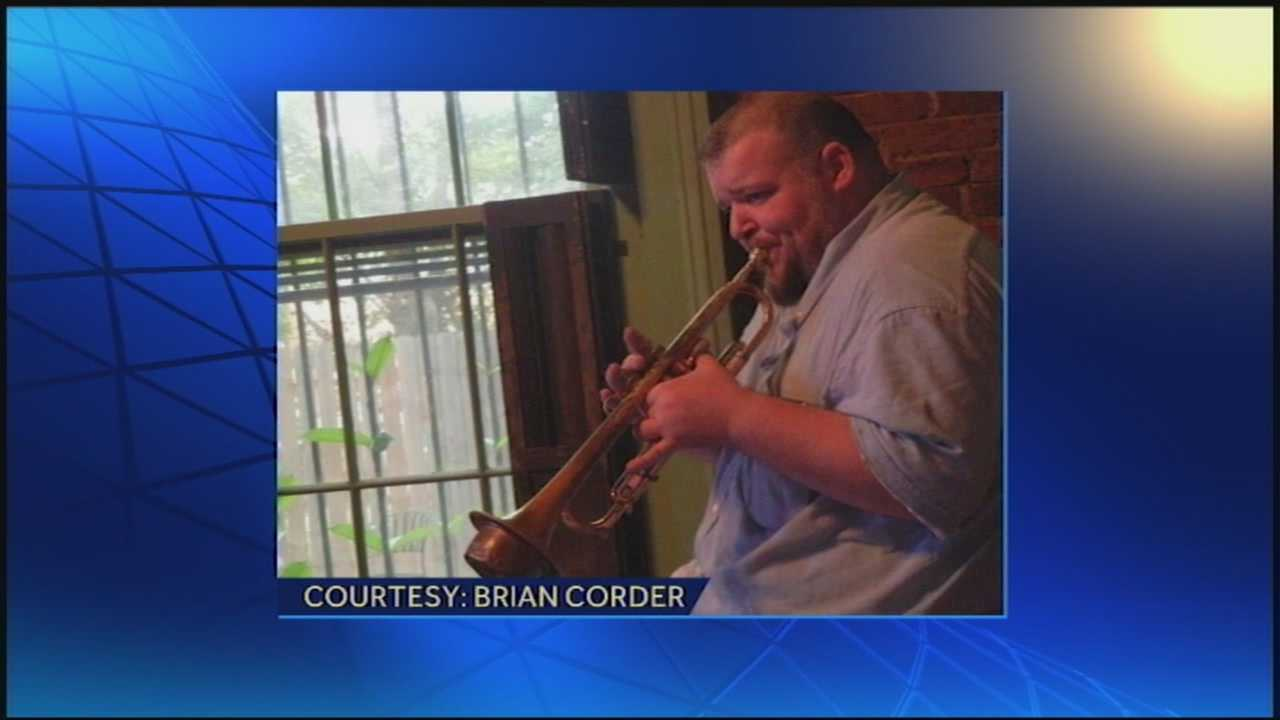 A Louisville musician was shot to death Sunday night in an altercation at a home in PRP.