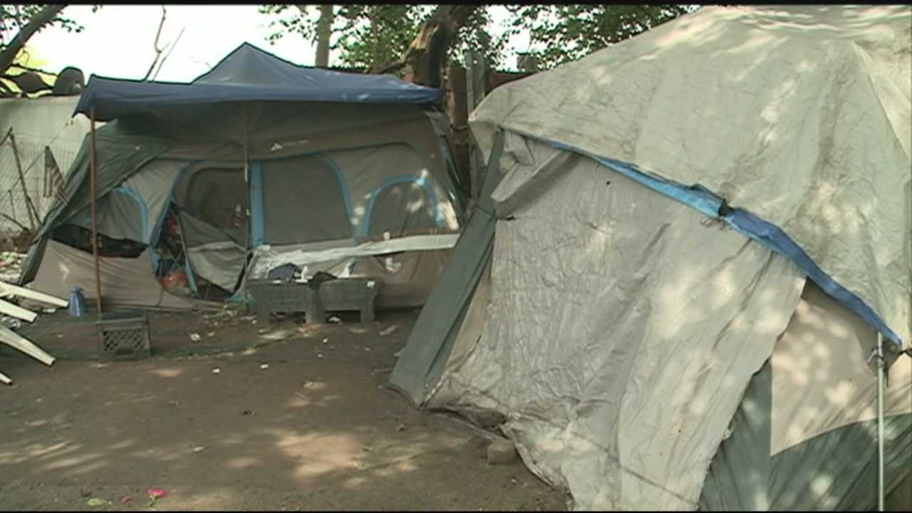 Louisville's oldest and largest homeless camp residents say they have been told it soon may be uprooted.