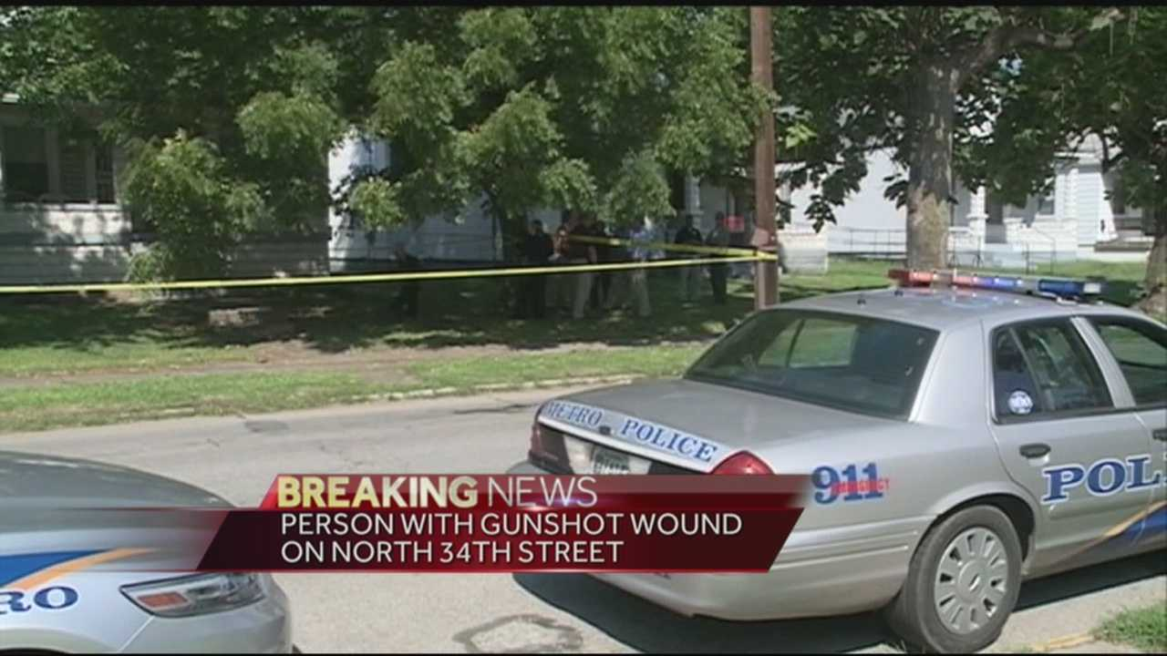 Police are investigating a shooting on North 34th Street