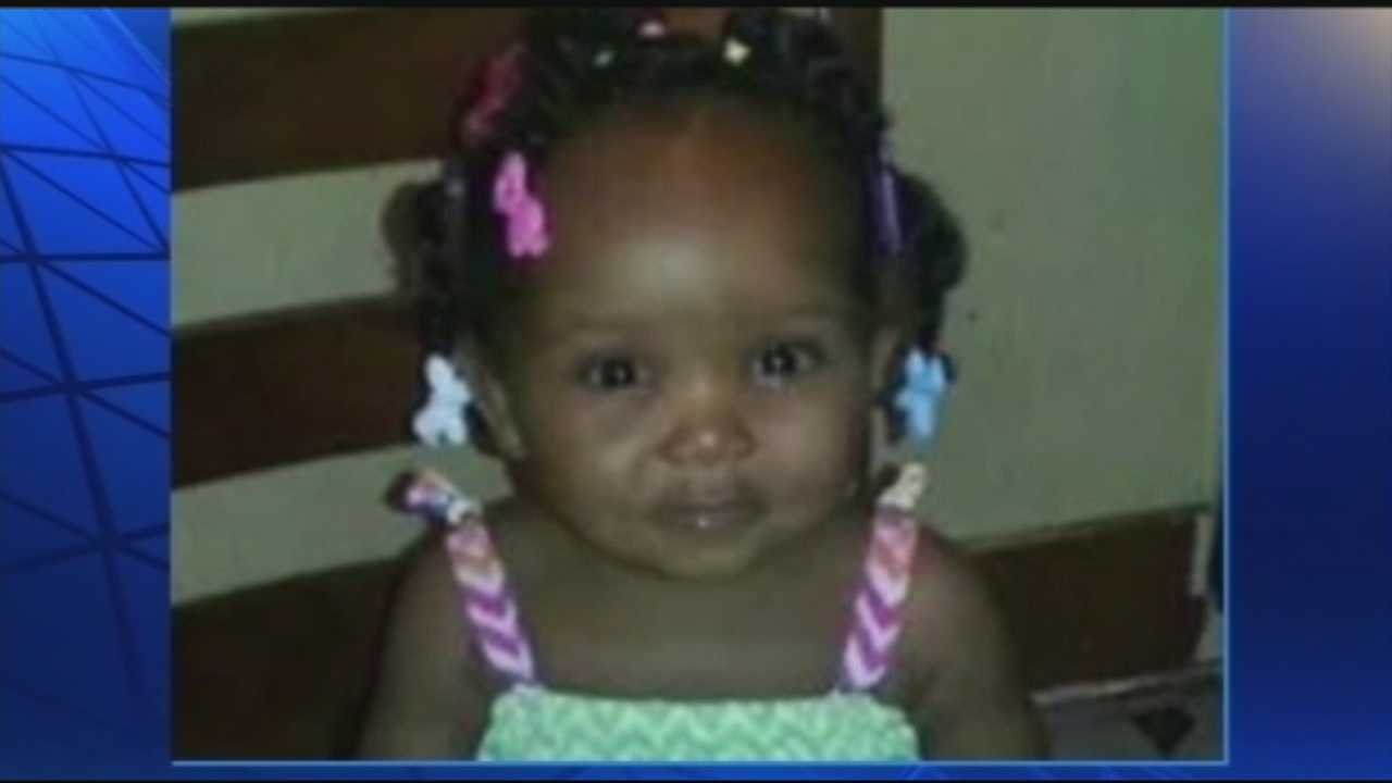 The funeral is held Friday for a 16-month-old Louisville girl who was slain last week.