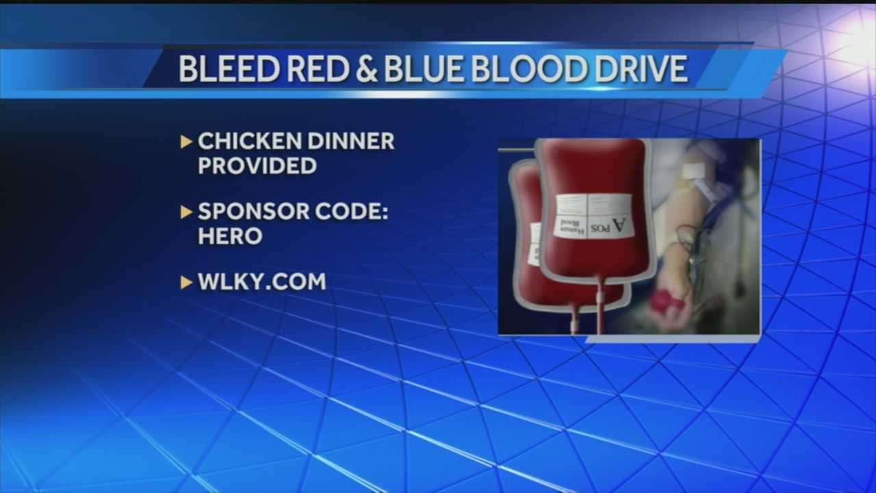 An upcoming blood drive will give donors a chance to show off their team spirit while helping a good cause.