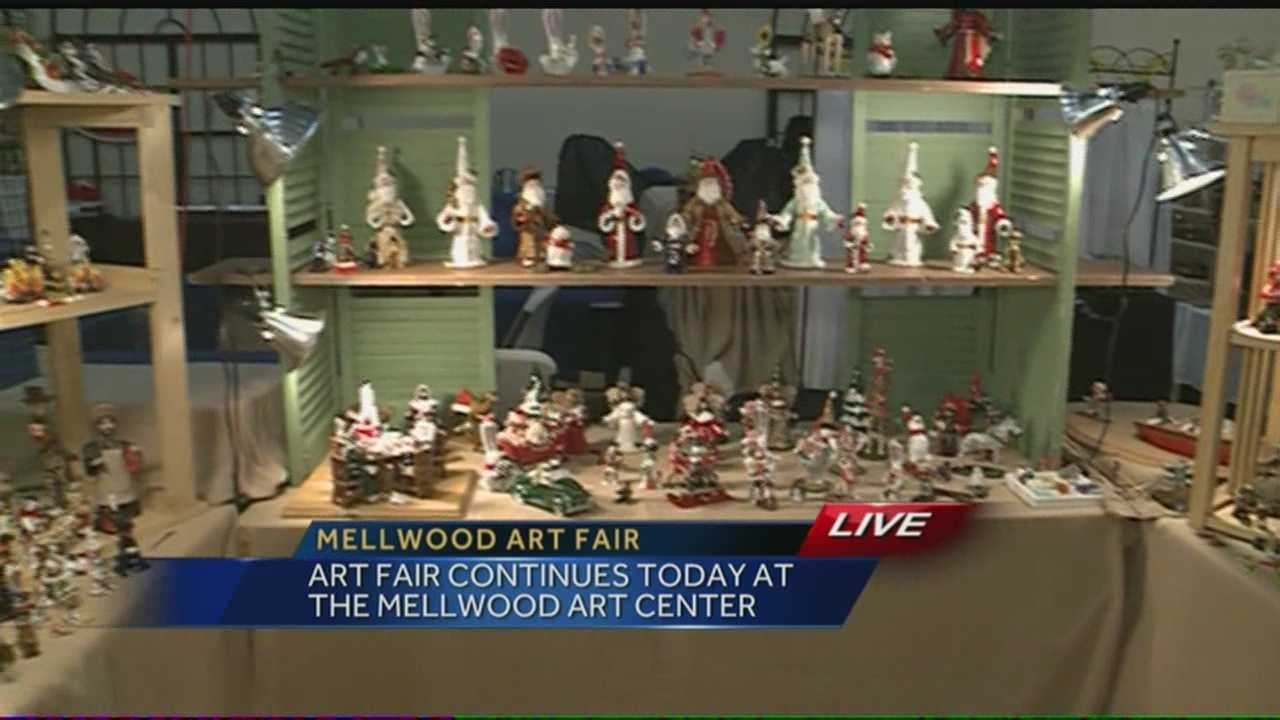 The work of hundreds of local artists in on display for the September Art Fair at the Mellwood Art Center.