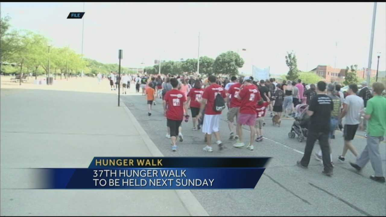 The 37th-annual Dare to Care Hunger Walk will be held at the Belvedere next weekend.