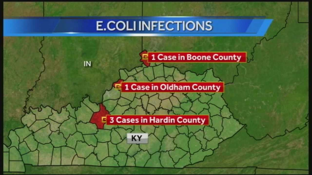 Five Kentucky children have been treated for E.Coli.