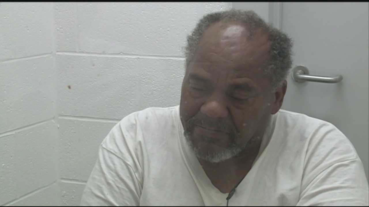 A man accused of stabbing two people speaks to WLKY News.