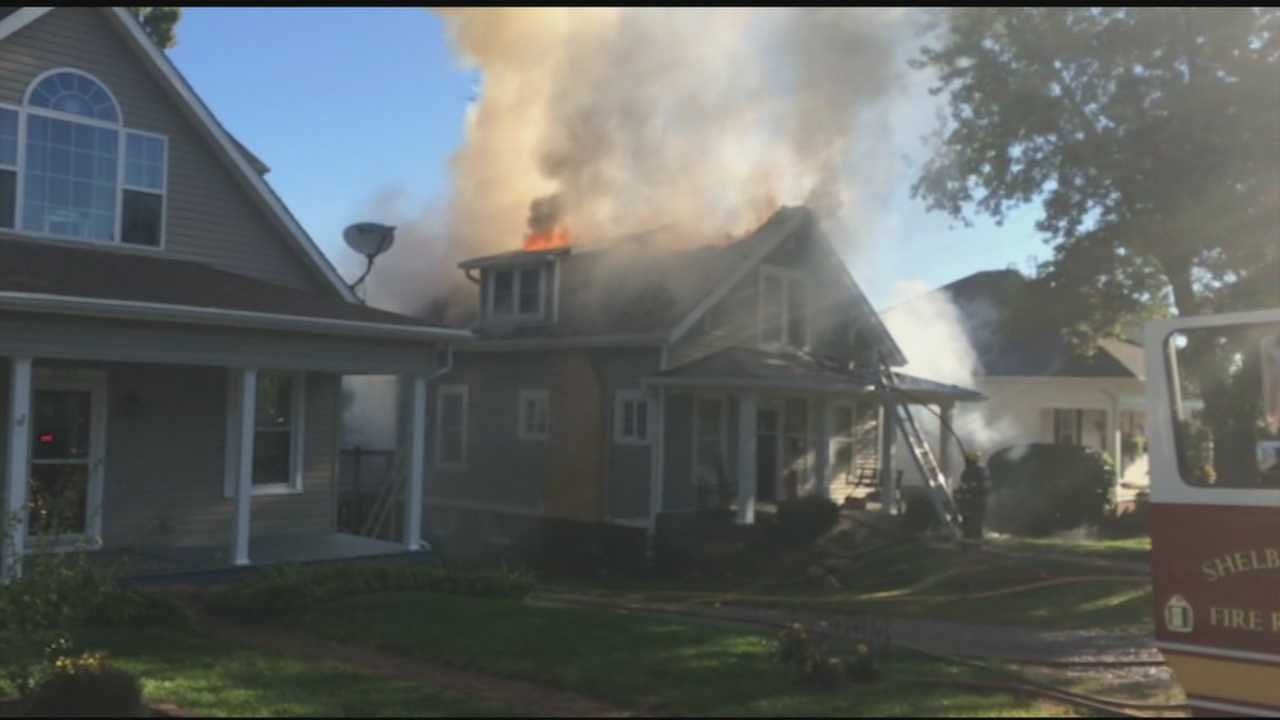 The cause of a house fire in Shelbyville is under investigation.