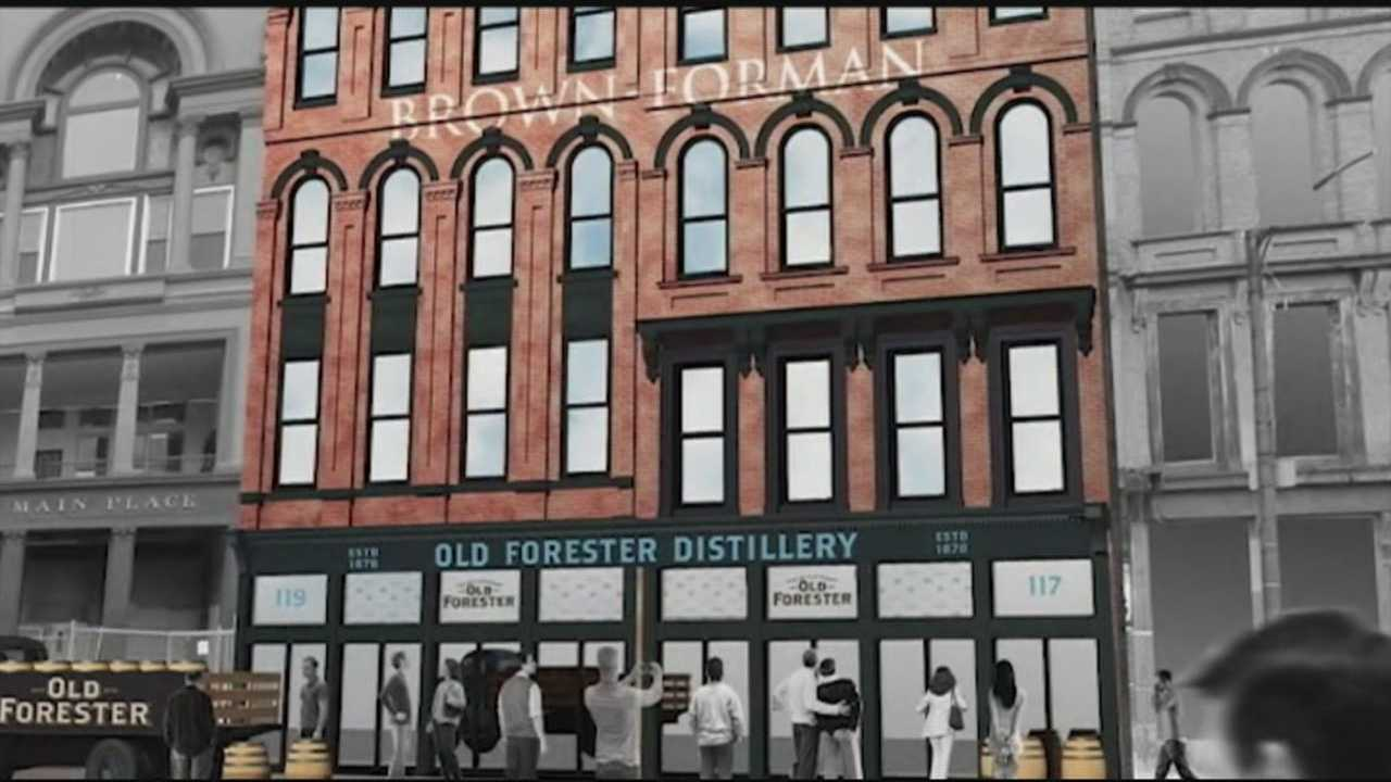 Brown-Forman is investing $30M is a new distillery in Whiskey Row.