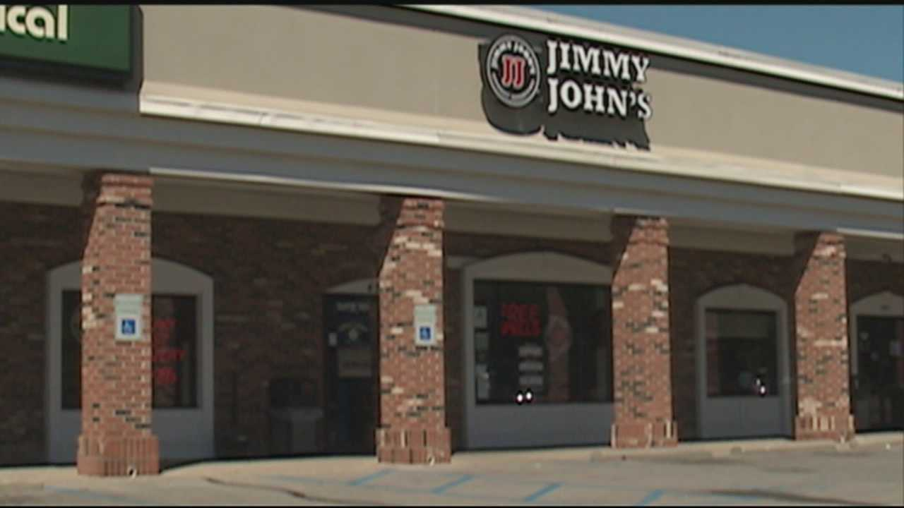 The data breach at the Jimmy John's sandwich chain affects a location in Louisville.