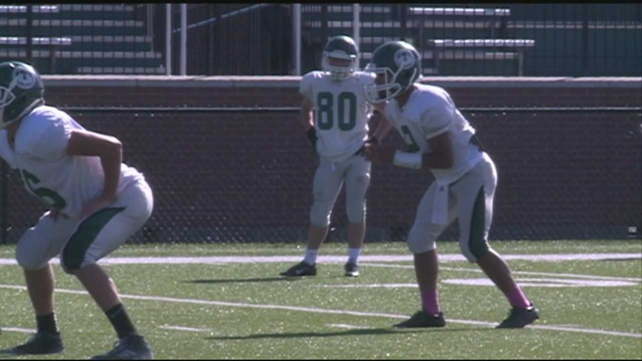 The Trinity High School football is rebounding after starting the 2014 season 0-2.