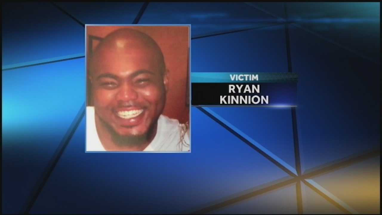 Ryan Kinnion, 24, was found on the side of a road last month and died the following day in the hospital.