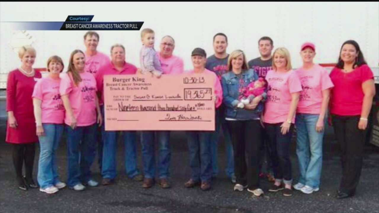 A two-day event beginning Friday, Oct. 10 will feature truck and tractor pulling, music, a Moon Pie eating contest and more to benefit Susan G. Komen for the Cure.