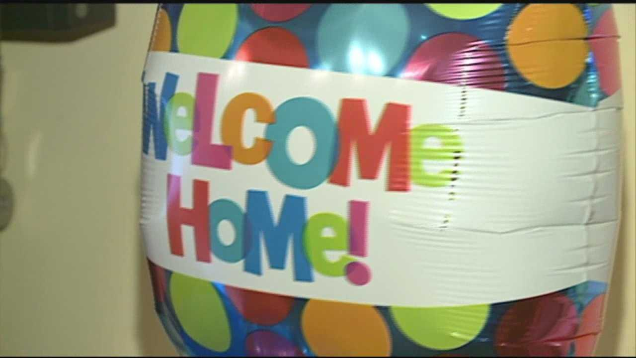 kids hit by suspected drunk driver are welcomed home