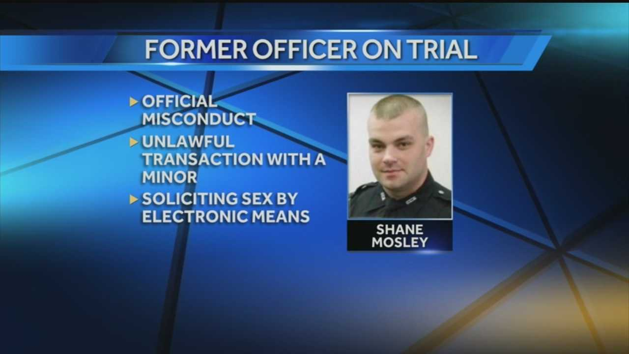 Jurors were sent home and will return Monday in the trial of a former Oldham County police officer