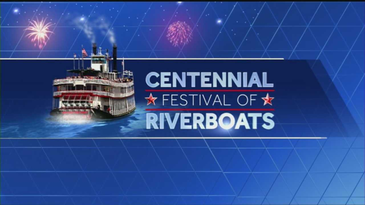 Tuesday marks the kickoff of the six-day Centennial Festival of Riverboats.