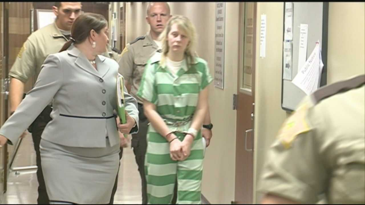 Kylie Jenks, 19, was sentenced to 20 years in prison with no probation on Thursday.