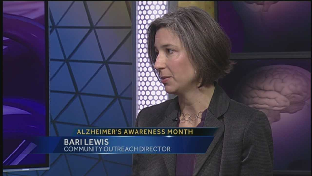 The local chapter of the Alzheimer's Association is raising awareness.