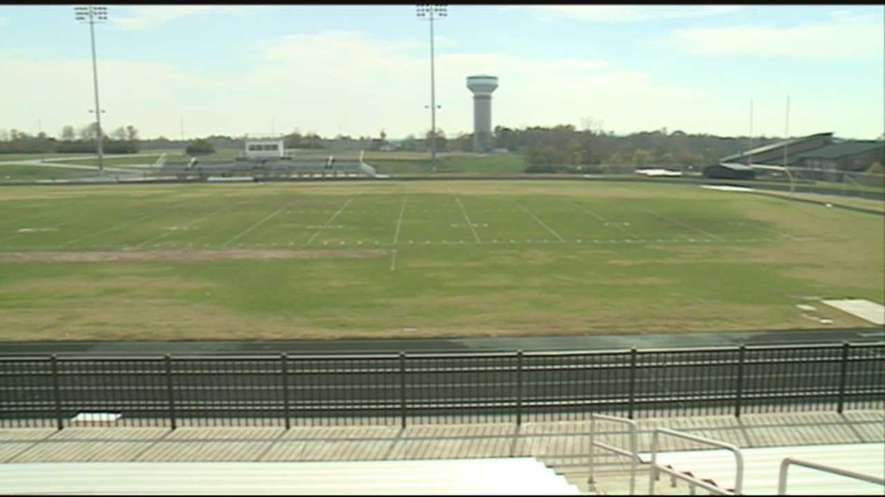The North Oldham football team is having a great season, and so at the two other schools who are using their field. School officials say upkeep is a losing battle and hopes with community help they can switch to turf.