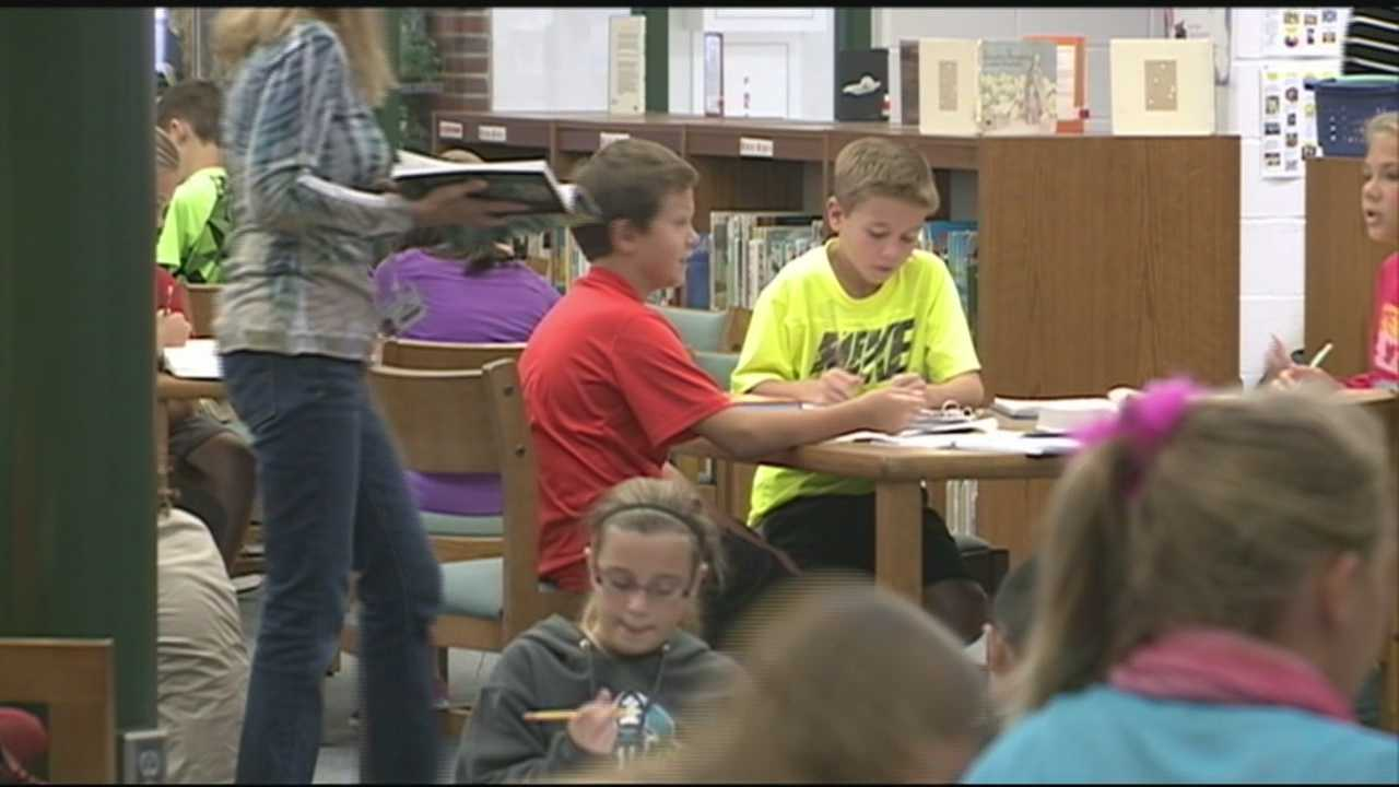 A library based on kindness and acceptance: it's the legacy a local fifth-grade class is working to leave behind and everyone in the community can help in their fight against bullying.