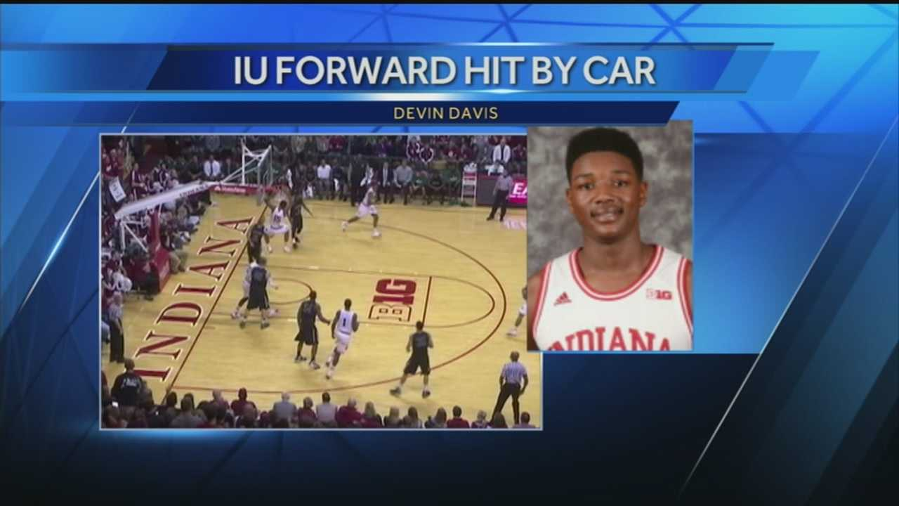 The Bloomington Police Department responded to a car accident at 12:45 a.m. involving a men's Basketball player struck at 17th and Indiana Avenue near IU Athletic facilities, according to a press release from police.