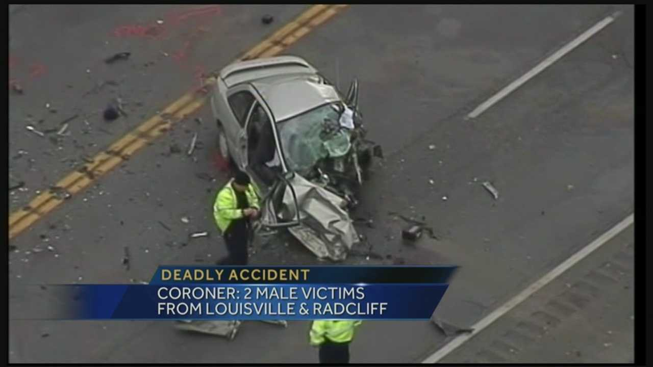 The two people who were killed Friday afternoon in a crash near the Hardin County line have been identified.