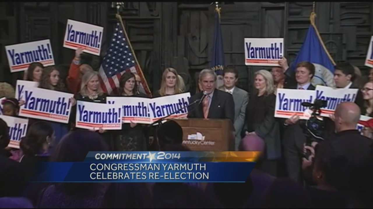 Democrats celebarte Yarmuth re-election for fifth term