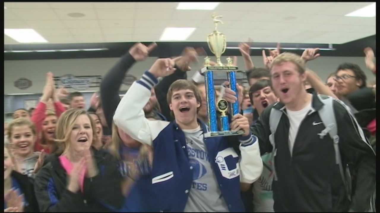 WLKY School of the Week Charlestown High will try for its fourth sectional title championship in five years when  it takes on North Harrison on Friday night.