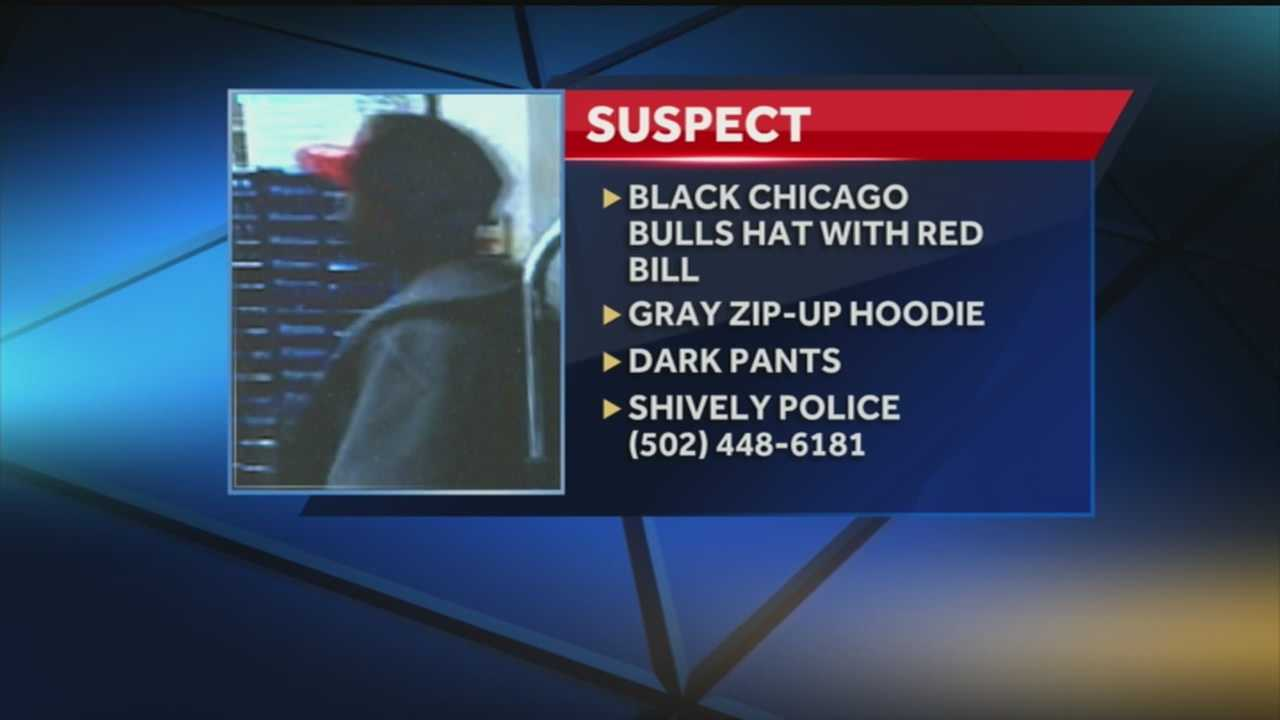 Police believe the man who robbed the Walgreens was wearing a black Chicago Bulls hat, with a red bill, a gray zip-up hoodie and dark pants.If you have any information, call Shively police at 448-6181.
