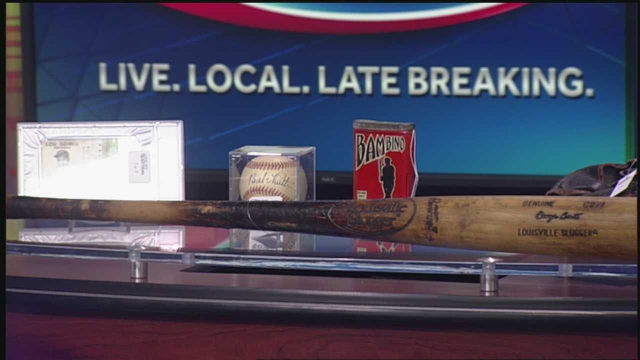 Happening Saturday is an annual event that will give you a chance to own a piece of baseball history.