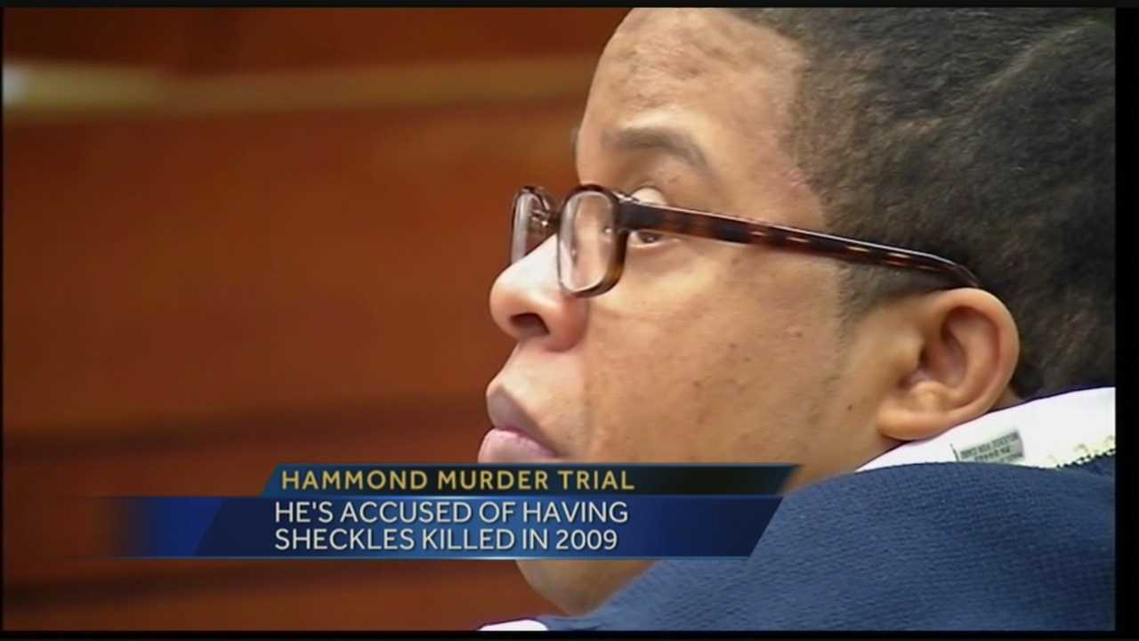 Jury selection is underway at Dejuan Hammond's third murder trial.