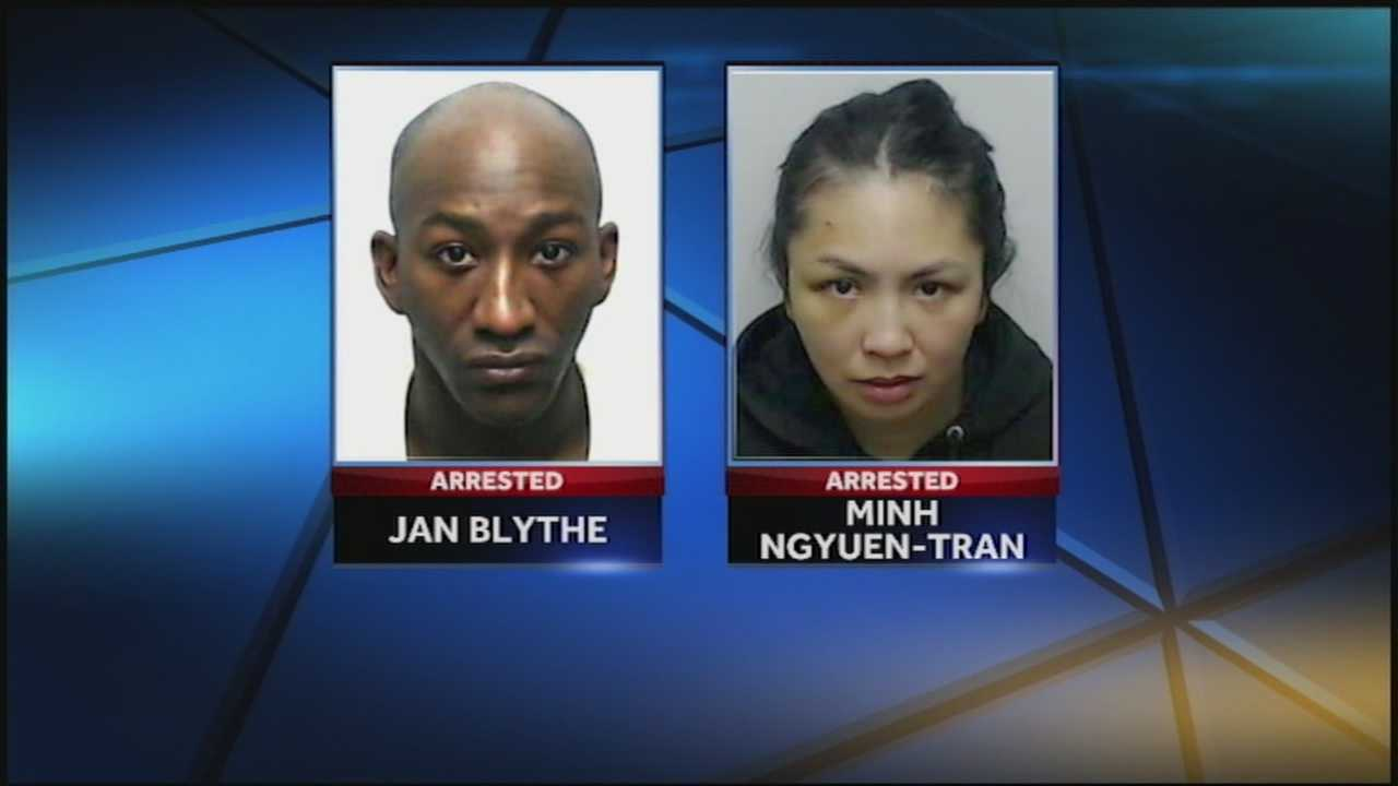 A southern Indiana couple are facing burglary charges after police say they broke into people's homes while they were inside sleeping.