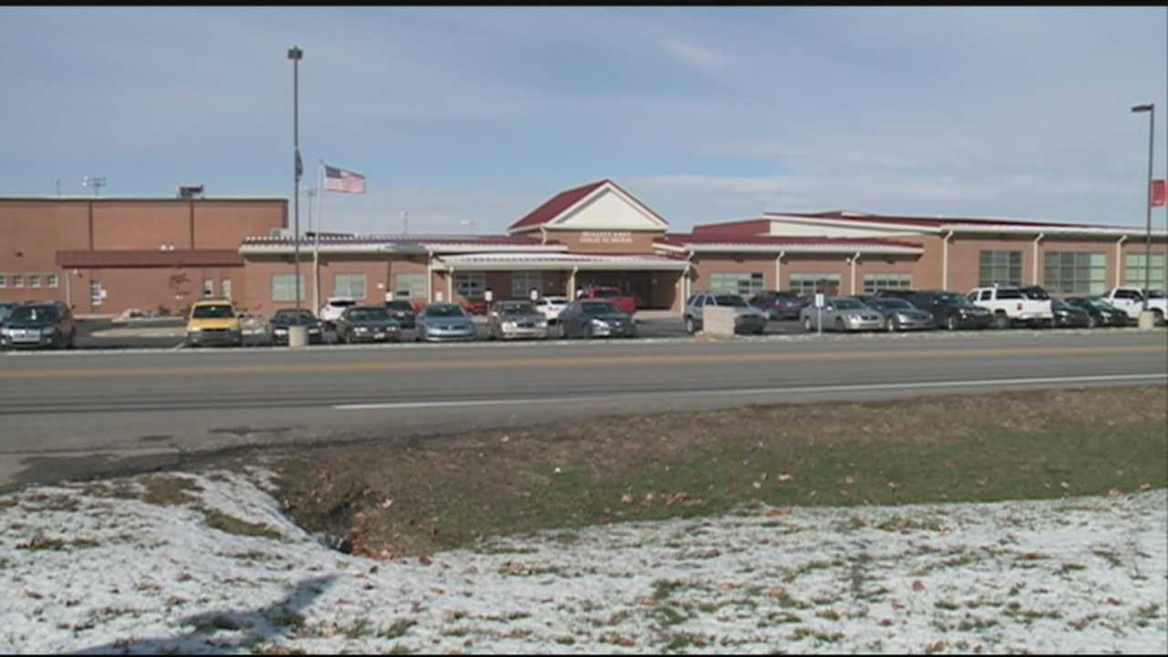 Mount Washington police say two suspects were at Bullitt East High school to sell drugs to students.