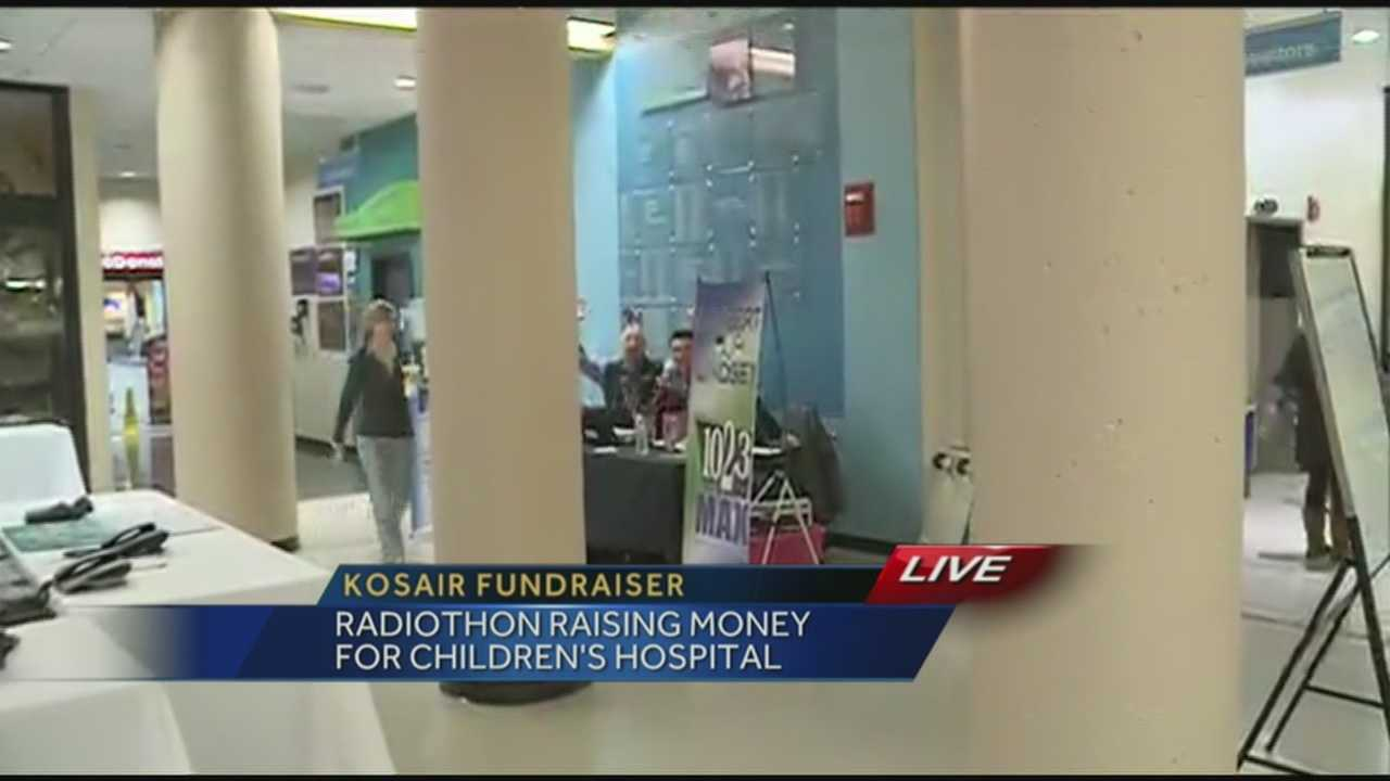 Several radio stations in Louisville are teaming up to raise money for a good cause Thursday morning at the 6th annual Kosair Children's Hospital Radiothon.