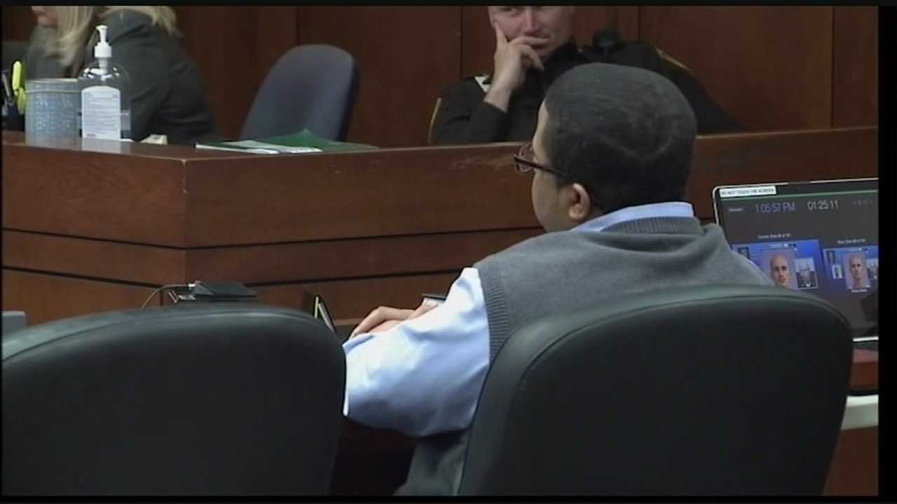 The commonwealth begins its fourth try to convict the Louisville man accused of hiring a teen to kill the star witness in his brother's murder trial.