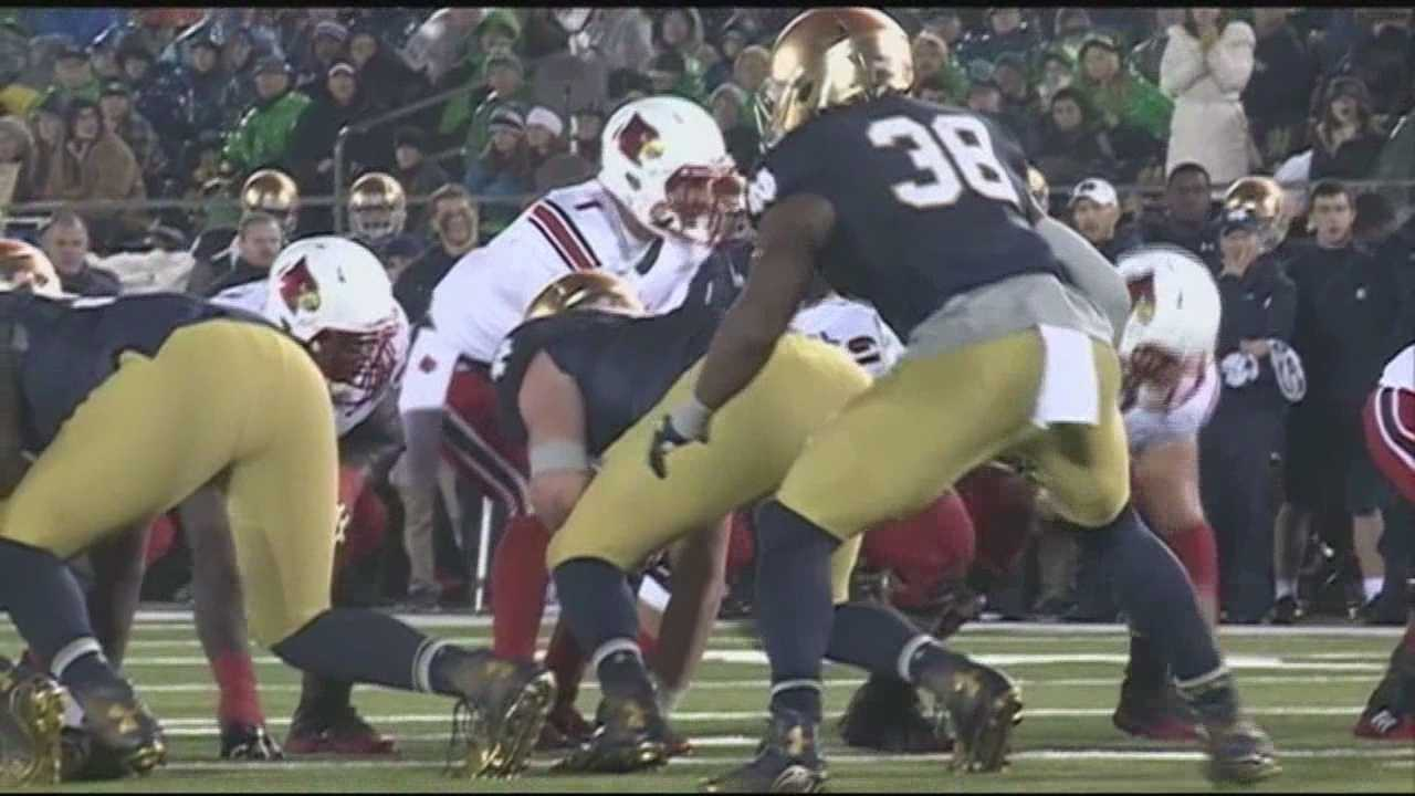 Louisville at Notre  Dame