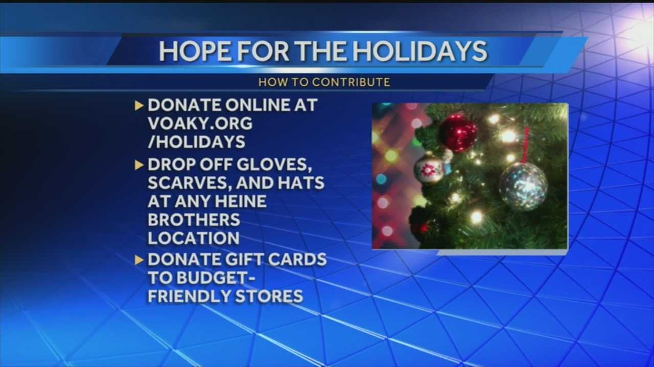 Local campaign helps prepare those in need for holiday season
