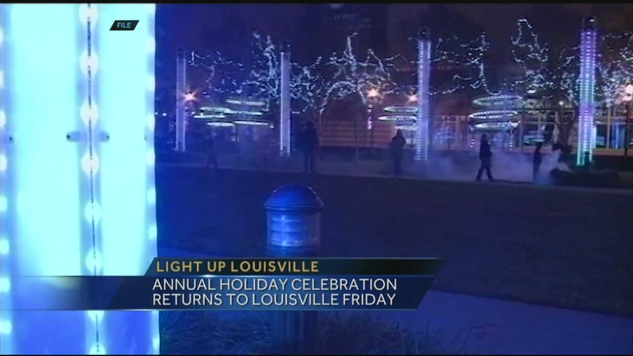 This Friday an annual event will have downtown Louisville glowing with holiday cheer.