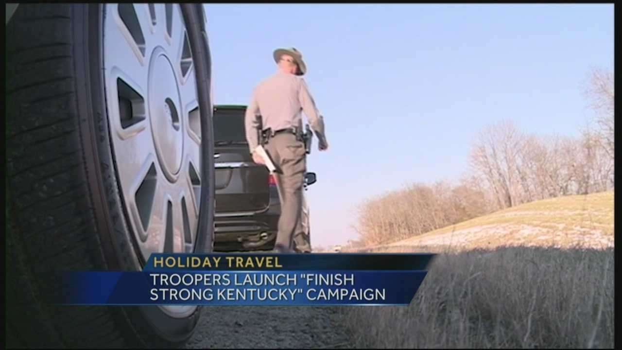 You can expect to see more Kentucky State Troopers patrolling the roadways this holiday weekend.