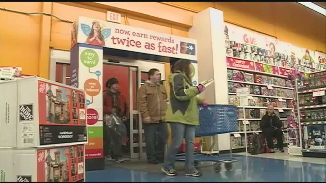 While many are still at the dinner table, Black Friday shoppers are already gobbling up the bargains at several stores around town.