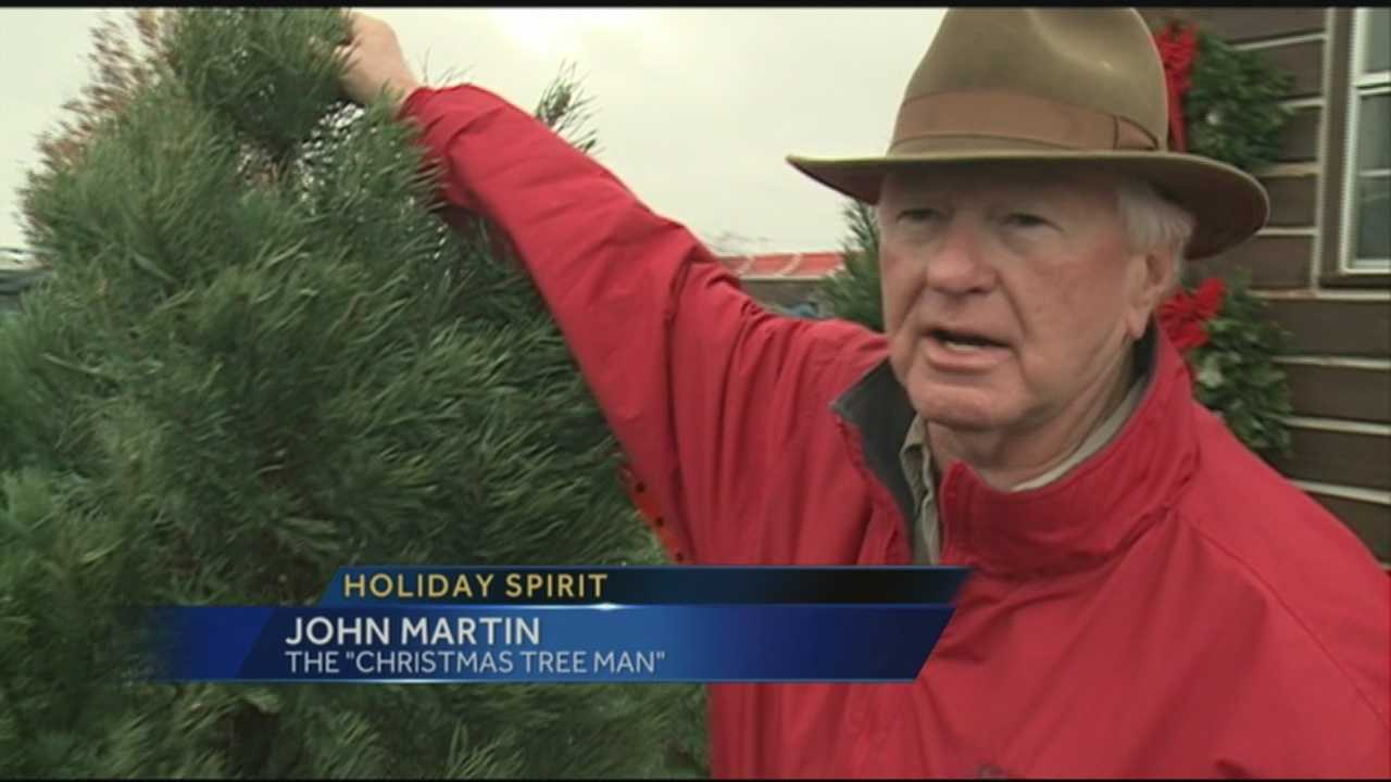 A local businessman has been bringing the holiday spirit to thousands of area families for the past 4 and a half decades.