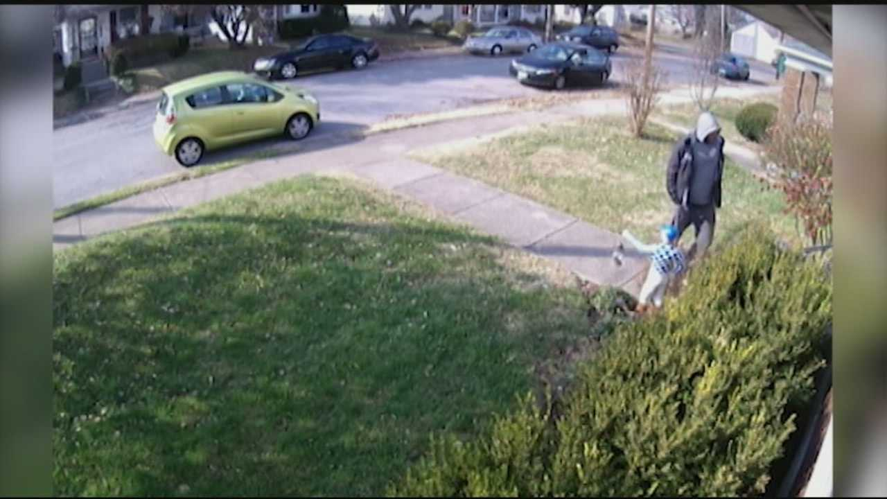 A man faces charges after police said he was caught on camera stealing mail and packages from the front porches of homes.