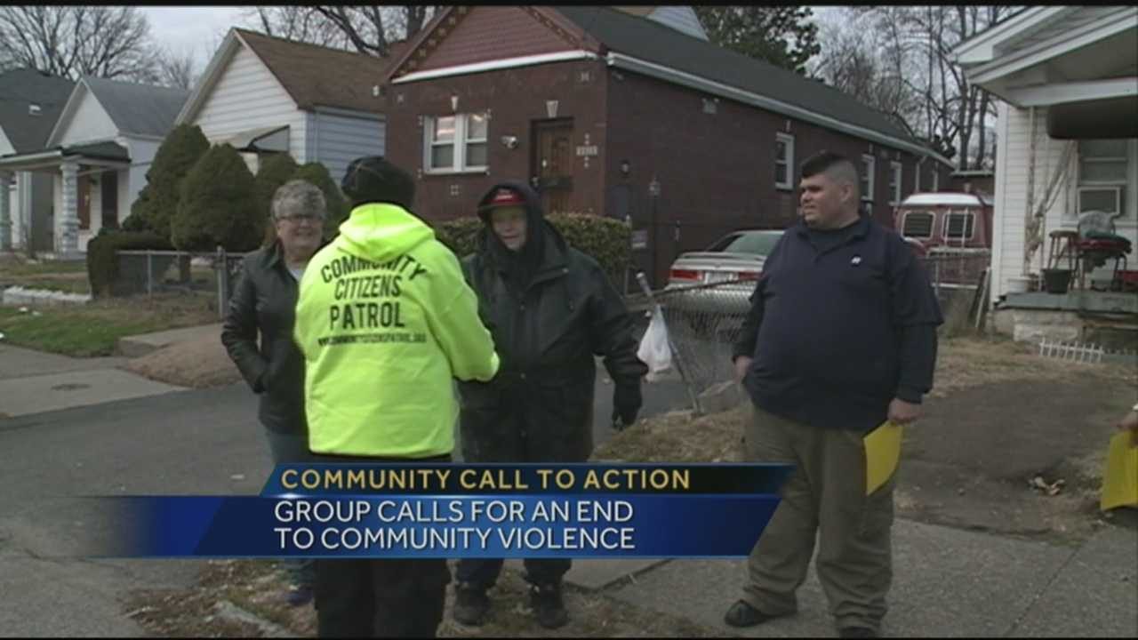 Concerned citizens are calling for an end to all the community violence.